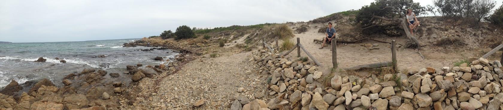 Панорама побережья