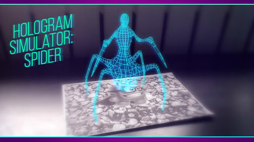 Hologram Simulator: Spider