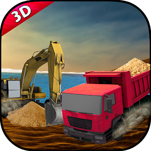 Transport Truck 3D: River Sand for PC and MAC
