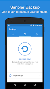 Easy Backup - Contacts Export and Restore Screenshot