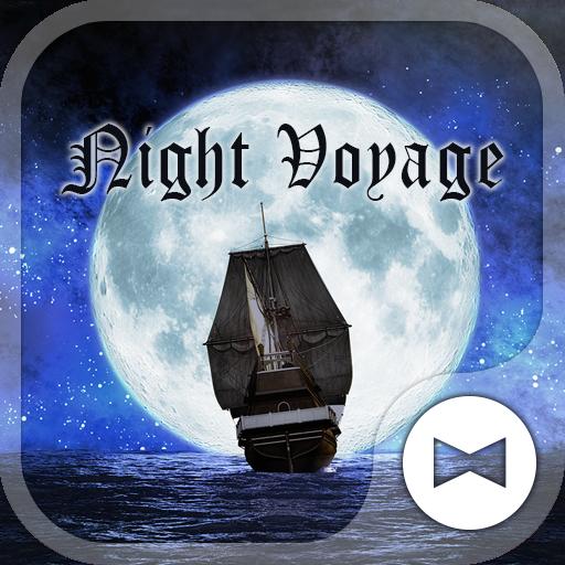 壁纸·图标 在月夜启航 個人化 App LOGO-硬是要APP
