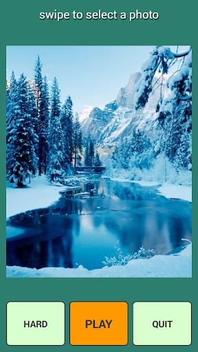 降雪パズル
