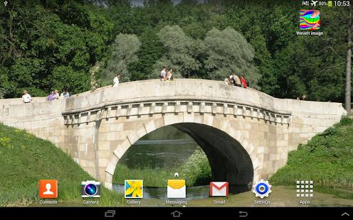 WaveIt Free Live Wallpaper screenshot