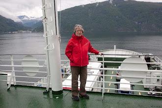 Photo: Ferge mot Linge, Norddalsfjorden (?)