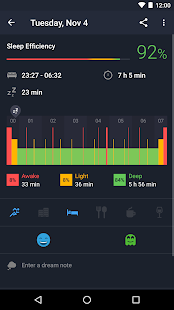 Sleep Better with Runtastic Screenshot 2