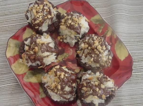 Macaroon Brownie Bites Recipe