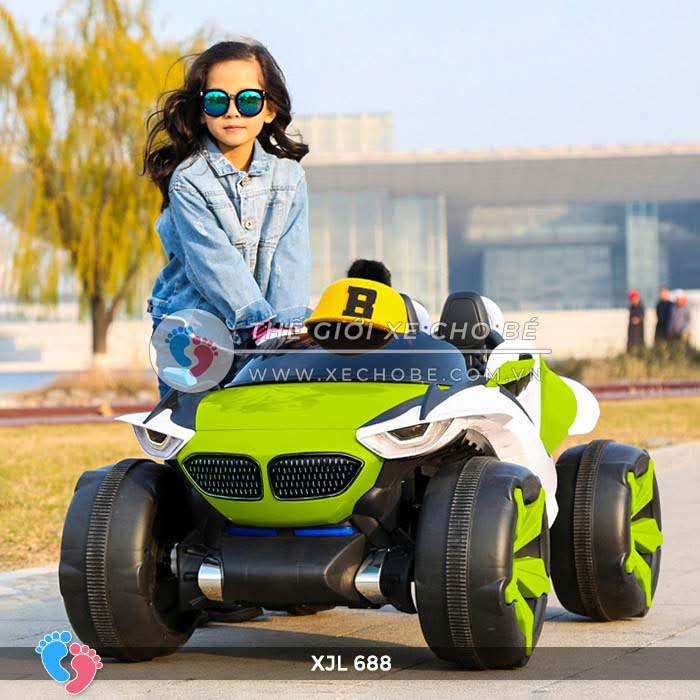 Xe ô tô điện địa hình cho bé XJL-688 1