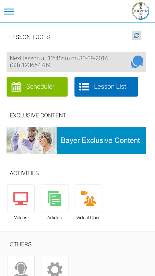 Bayer Langues – Screenshot