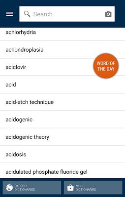Oxford Dictionary of Dentistry - screenshot