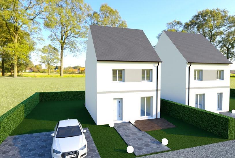 Vente Terrain + Maison - Terrain : 281m² - Maison : 82m² à Mareuil-lès-Meaux (77100)