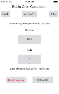 Basic Coin Calculator- screenshot thumbnail