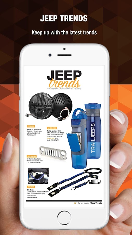 Trail Jeeper Magazine- screenshot