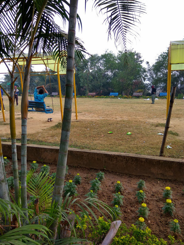 Park and Picnic Area in Birsa Munda Park