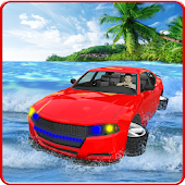 Water Surfing Car Simulator