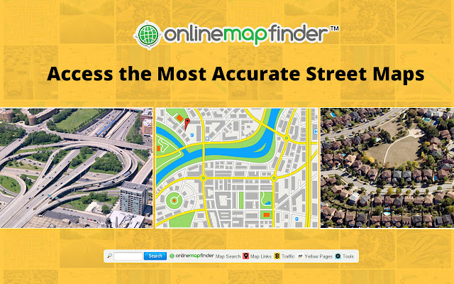 OnlineMapFinder Chrome Web Store – Map Directions Traffic