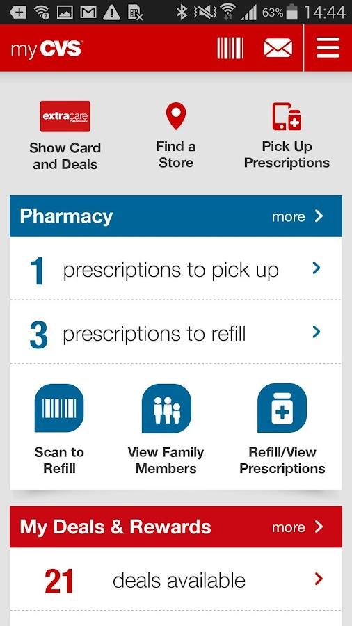 CVS/pharmacy- screenshot