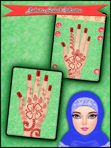 Hijab Hand Art