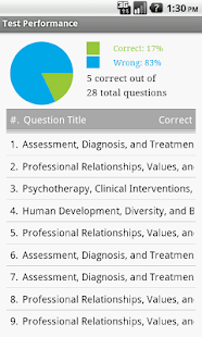 Social Work Clinical Exam Prep- screenshot thumbnail