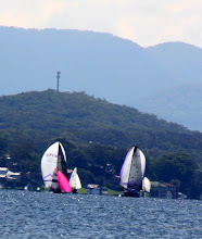 Photo: Year 2 Day 230 - That's My Boat - the One With the Little Pink Sail
