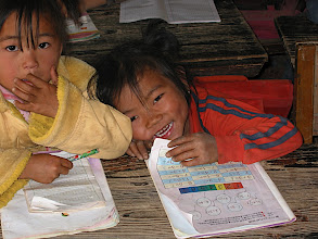 Photo: Children from the Yunnan Province of China