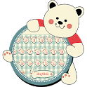 Lovely Bear Keyboard Theme icon