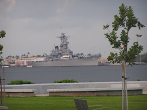 Photo: C1260006 O'ahu - Pearl Harbor - okret USS Missouri