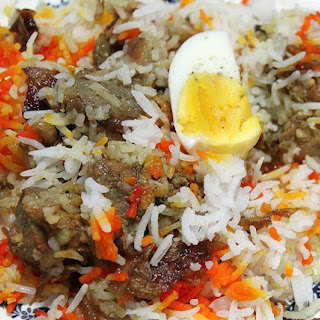 Chicken Biryani.