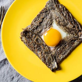 Savory Buckwheat Crepes Recipe
