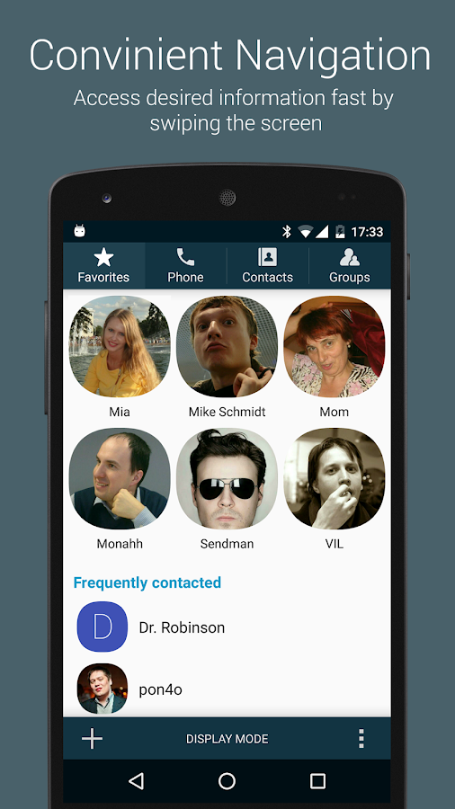 True Phone Dialer & Contacts- screenshot