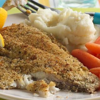Crispy Oven-Baked Fish.
