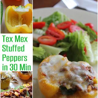 Tex Mex Stuffed Peppers Recipe