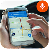 GPS Voice Navigator With Places Maps Navigation