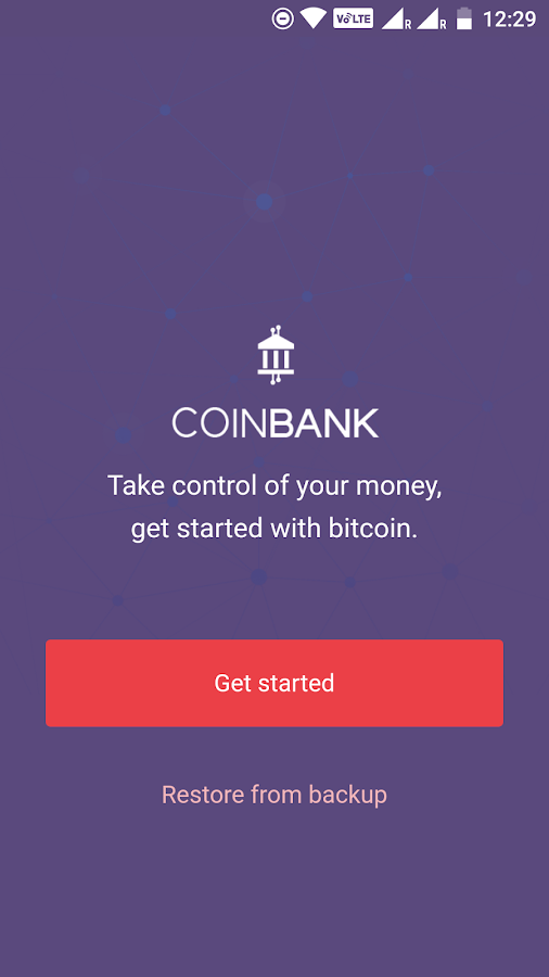 CoinBank - Safe Bitcoin Wallet- screenshot