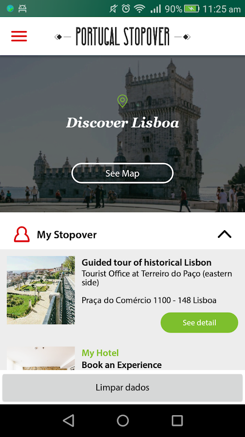 TAP Stopover- screenshot