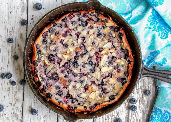 Flaugnarde Or Clafoutis Hot Out Of The Oven.