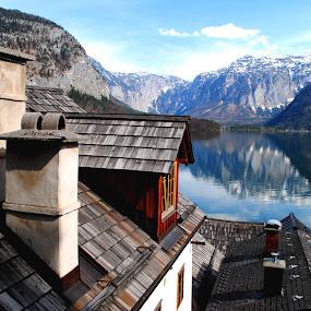 hallstatt by Tyler Sleap - Landscapes Travel ( reflection, village, see, moutains, hallstatter, hallstatt, austria )