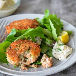 Salmon Fish Cakes Accompaniment Recipes.