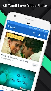 Tamil Love Video Status Songs App Download For Android and iPhone 2