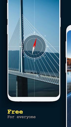 Digital compass - Smart Compass new 2019 2.1 screenshots 2