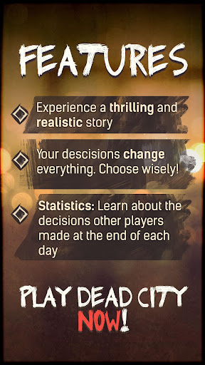 DEAD CITY - Choose Your Story Interactive Choice 1.0.8 screenshots 4
