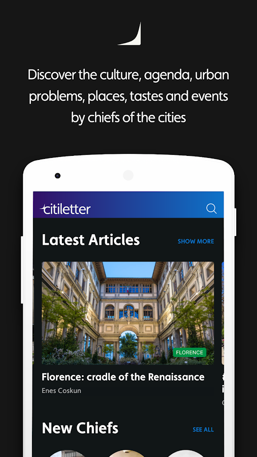 Citiletter - Discover the cities via chiefs- screenshot