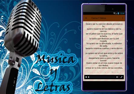 Roberto carlos cama y mesa musica apps on google play for Cama y mesa roberto carlos letra