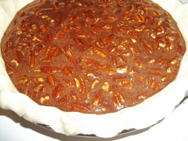 Pour into prepared pie crust. Bake for 45 - 55 minutes. There will be...