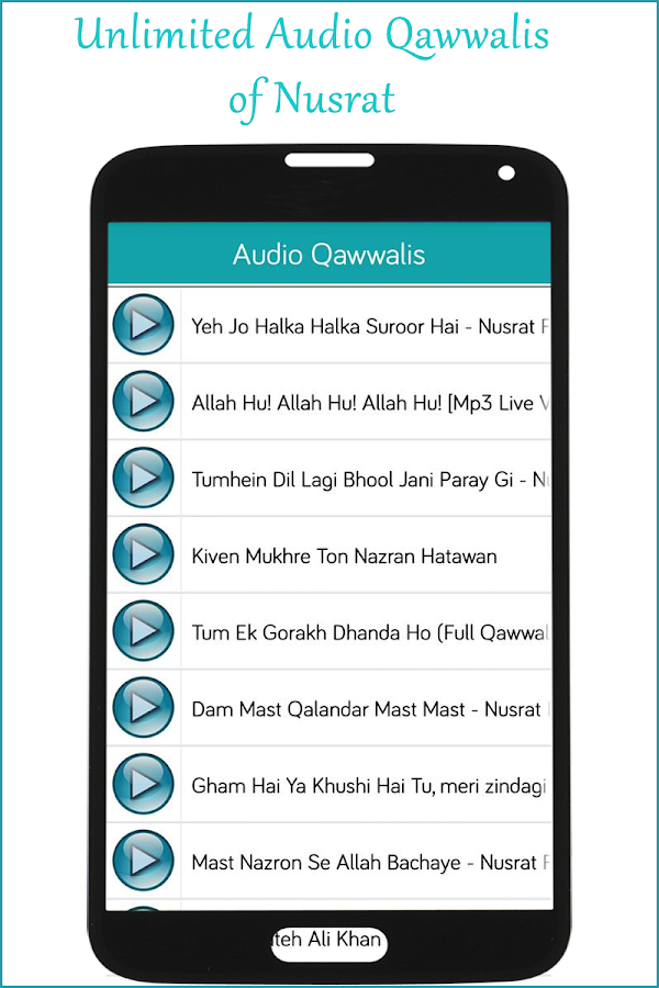 Nusrat Qawwali Collection MP3- screenshot