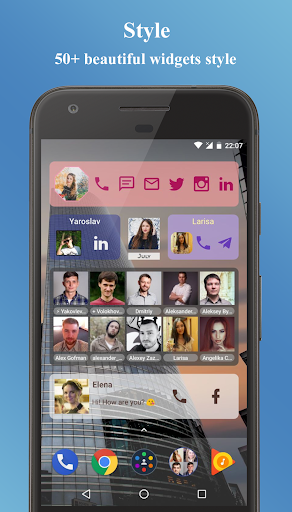 Contacts Widget 4.2.2 screenshots 2