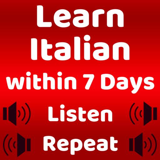 Learn Italian Speaking: English to Italian Icon