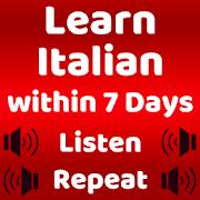 Learn Italian Speaking: English to Italian