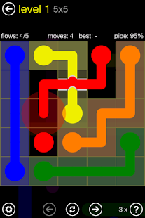 Flow Free: Bridges Screenshot 1