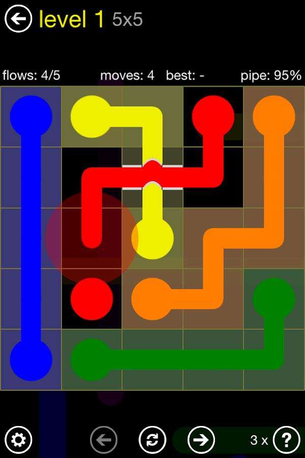 Flow Free: Bridges- screenshot