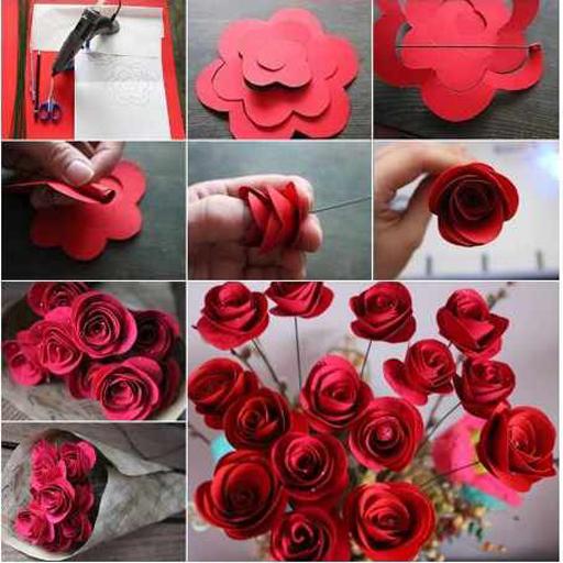 Diy easy paper flowers apk download apkpure diy easy paper flowers screenshot 23 mightylinksfo